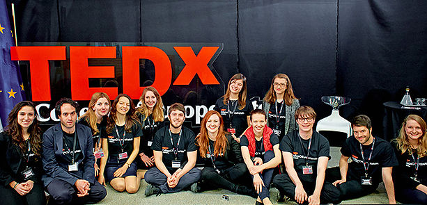 Aussitôt dit, (pas) aussitôt fait: the story of our TEDxCollegeOfEuropeNatolin