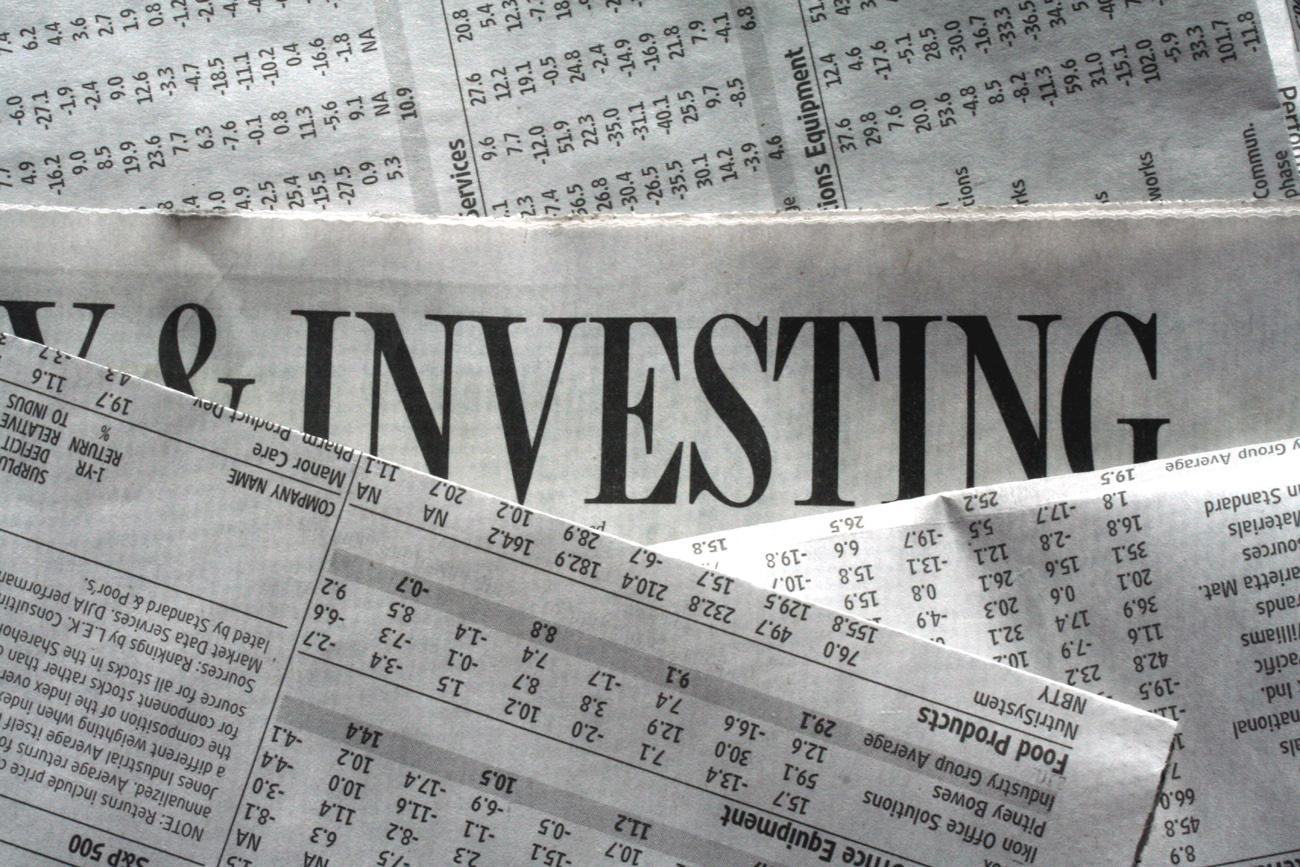 Stock image - investing
